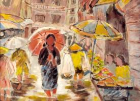 Hà Nội mùa mưa