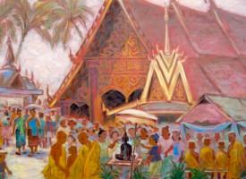 Lễ hội té nước ở Lào