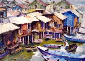 Xóm nghèo Nha Trang